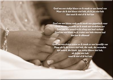 Huwelijksgedichten 40 Jaar Getrouwd