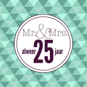 Kado 25 Jarig Huwelijk